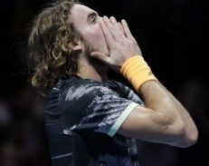 Stefanos Tsitsipas wins the ATP Finals