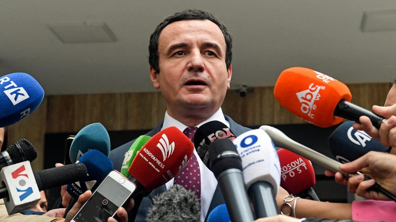 Kosovo's Kurti says the identity of the assassin of the Kosovo Serb leader is known