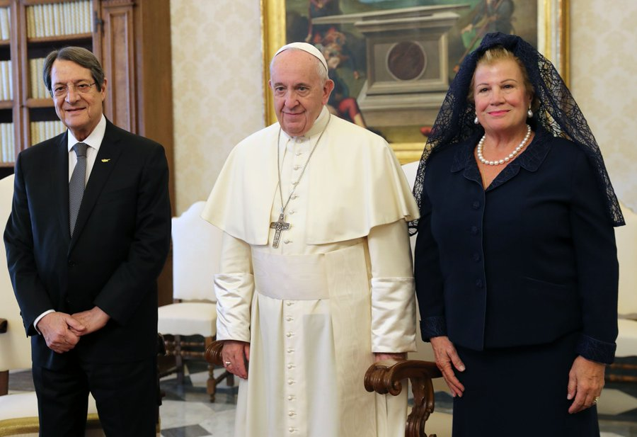 Nicos Anastasiades paid an official visit to the Holy See