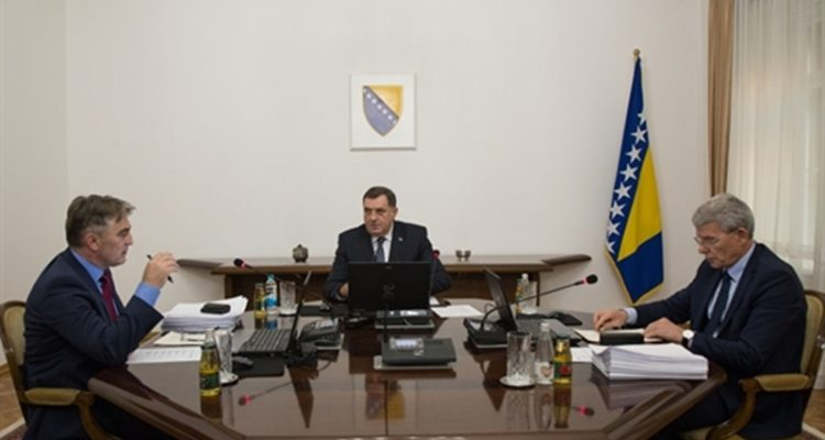 BiH Presidency appoints new Council of Ministers Chairman