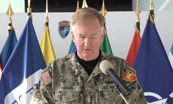 NATO's Admiral calls on Kosovo to form new Government