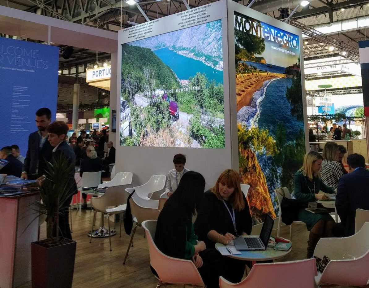 Montenegrin tourism promoted at the Barcelona IBTM Industry Fair