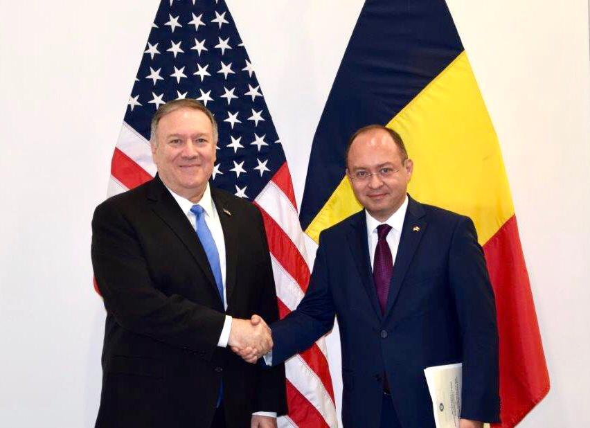 Pompeo and Aurescu reaffirm their Strategic Partnership