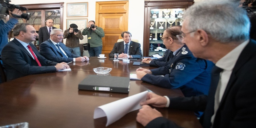 One-on-one meeting for Anastasiades and Kyprianou