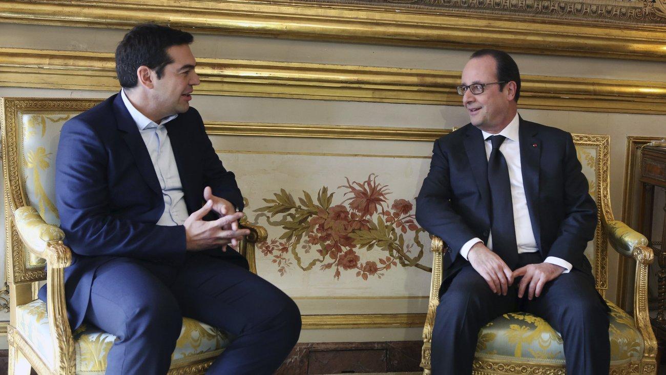 Alexis Tsipras in Paris