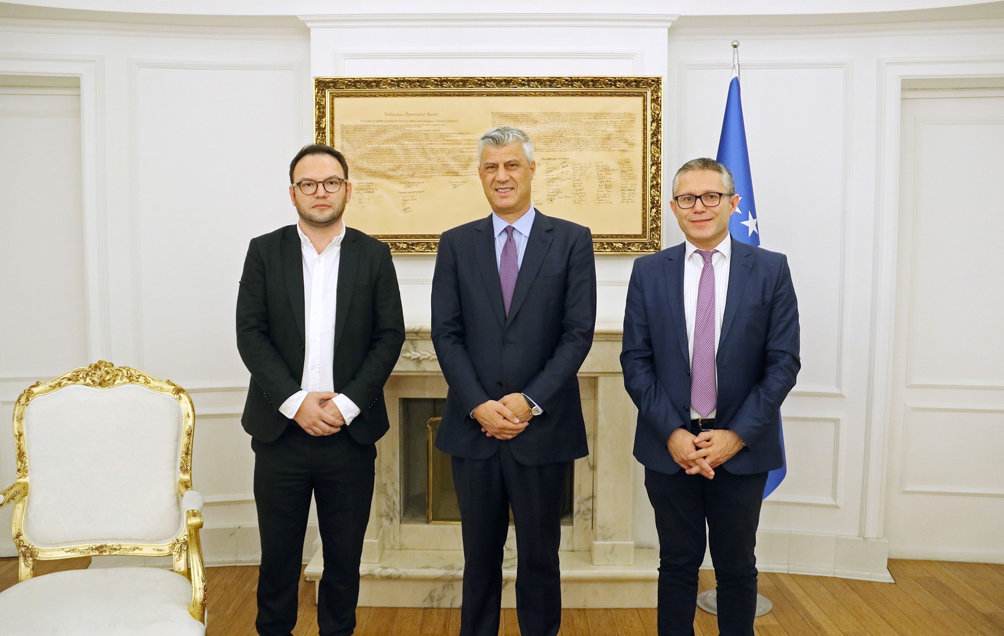 President Thaçi and Prime Minister Haradinaj appoint KIA Director and Inspector General
