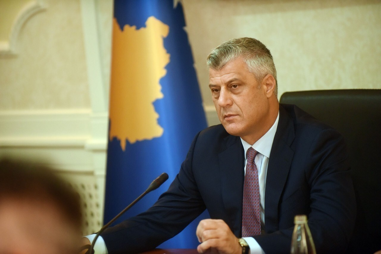 President Thaçi declared Wednesday a day of mourning in Kosovo