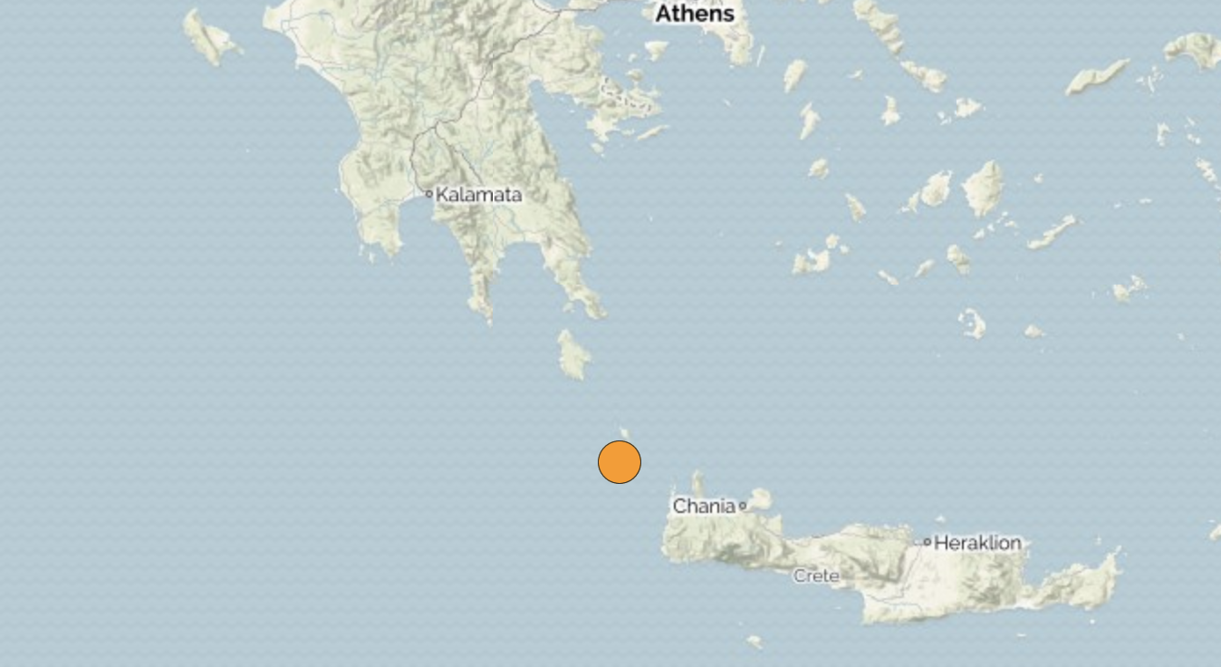 Greece: Earthquake 6.1 hits south of Peloponnese