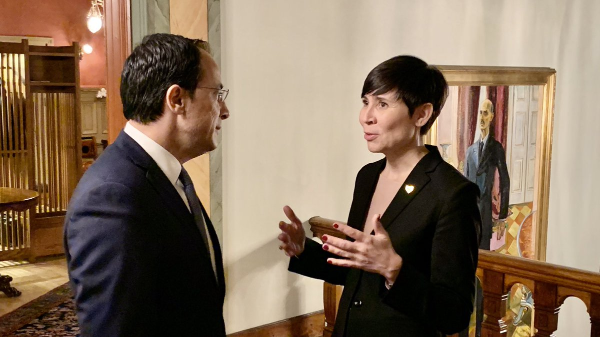 Christodoulides concludes his visit to Oslo