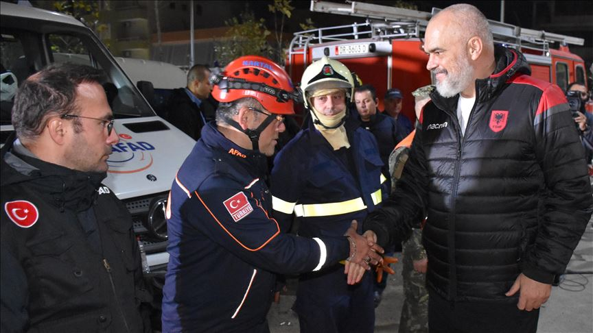 Rama: Turkey's help will never be forgotten