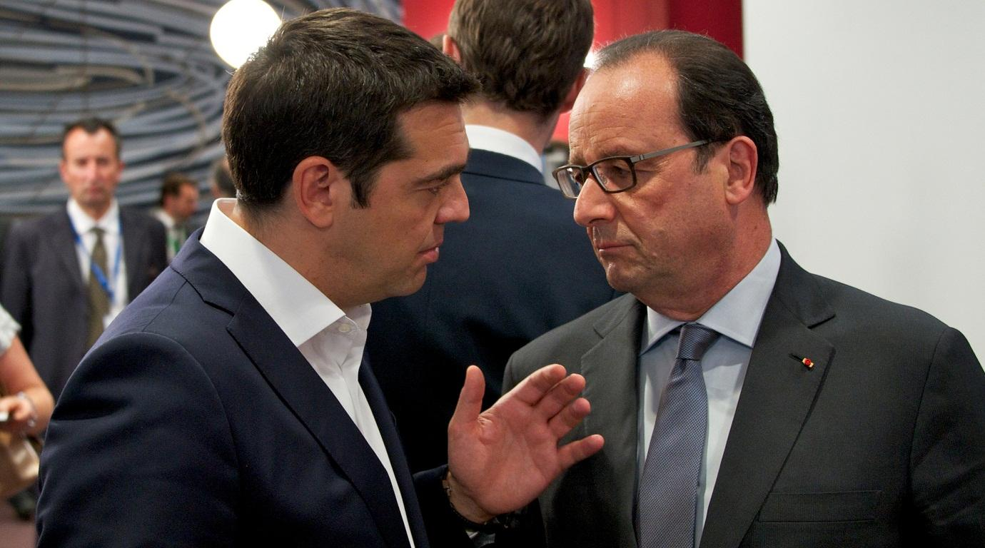 Tsipras' discussions while in Paris