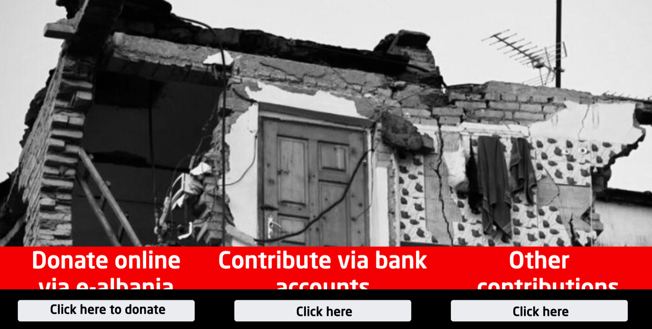 Solidarity with the earthquake victims in Albania