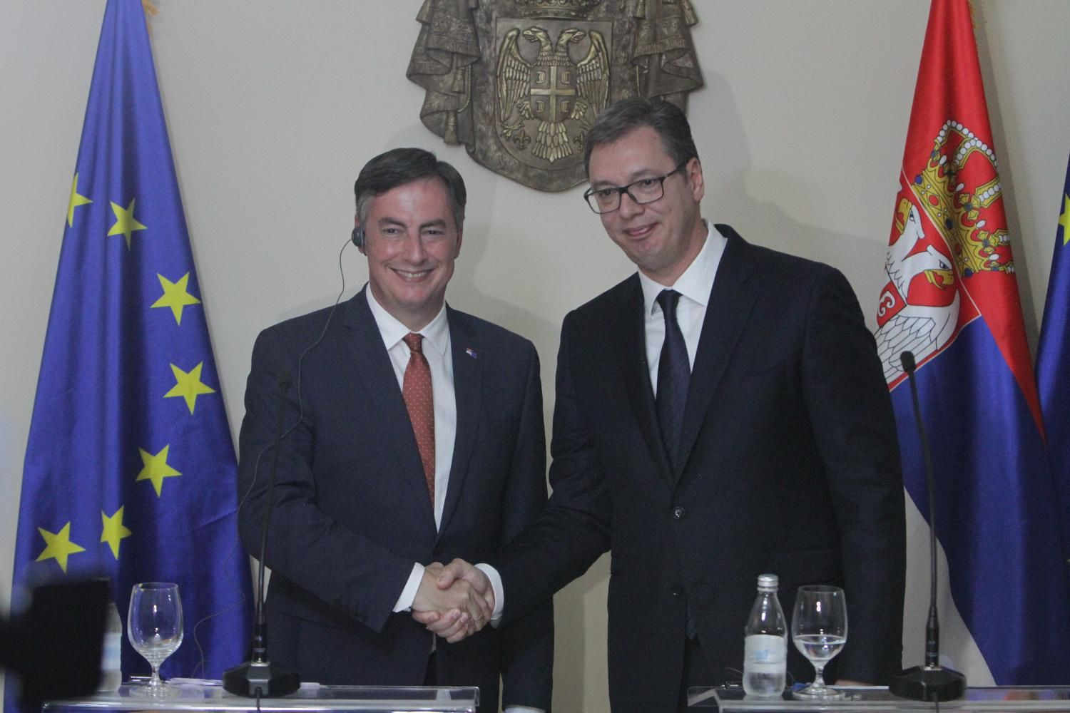 Vucic to met with a European Parliament delegation