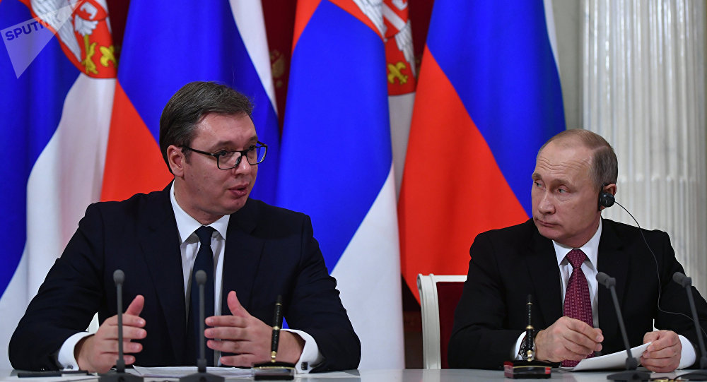 Putin: The strategic partnership with Serbia is being affirmed on a daily basis