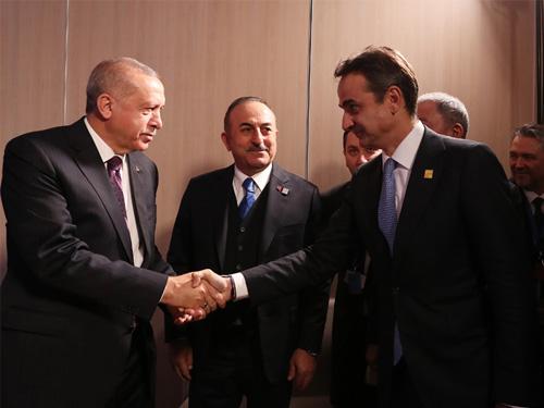 Mitsotakis to Erdogan: The Turkey-Libya Agreement is legally invalid