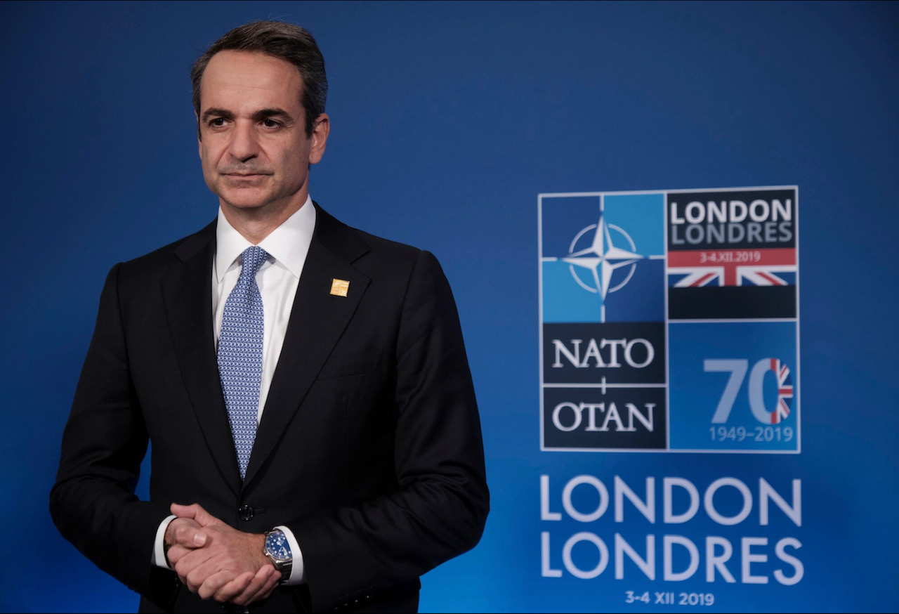 Mitsotakis met with the Canadian Prime Minister