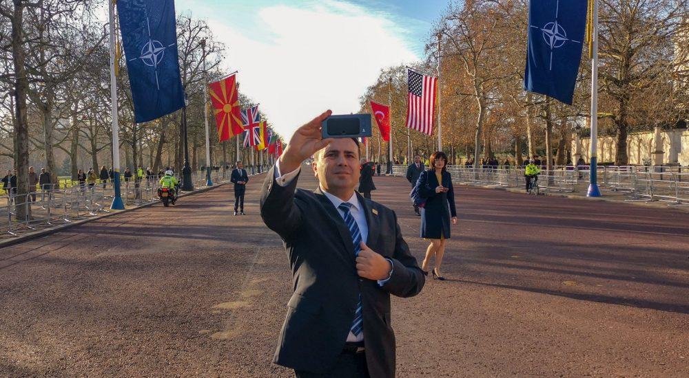 Zaev returns optimistic from the NATO Summit in London