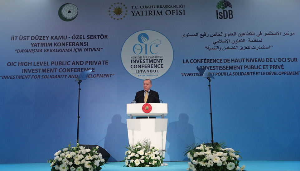 Erdogan: Islamic countries need to grow economically and achieve a higher level of welfare