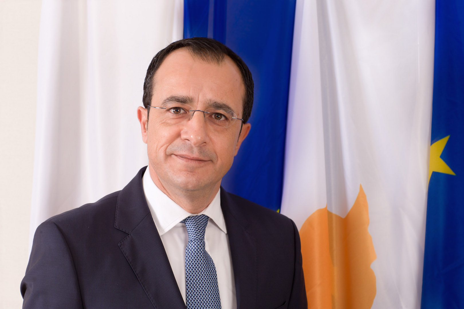 Nicos Christodoulides in Brussels for the EU FAC