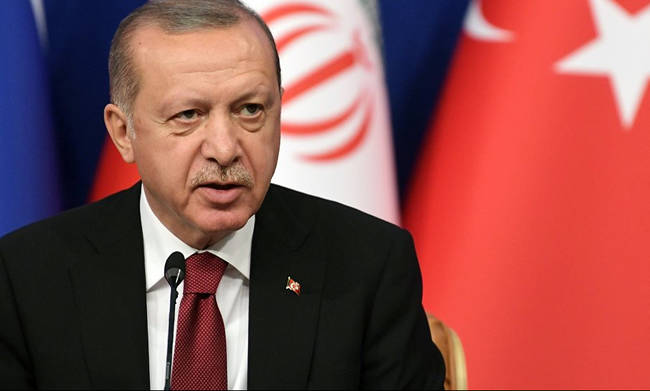 """Erdogan: """"Greece with the Agreement has been tied hand and foot, it has made them crazy"""""""