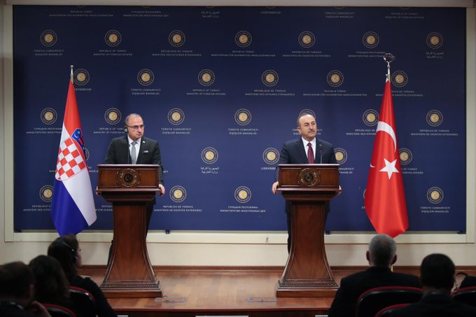 Cavusoglu: Our agenda does not include deploying military forces in Libya