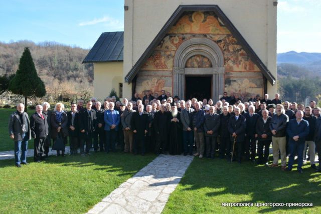Orthodox Serbian people in Montenegro against the new Law on Freedom of Religion