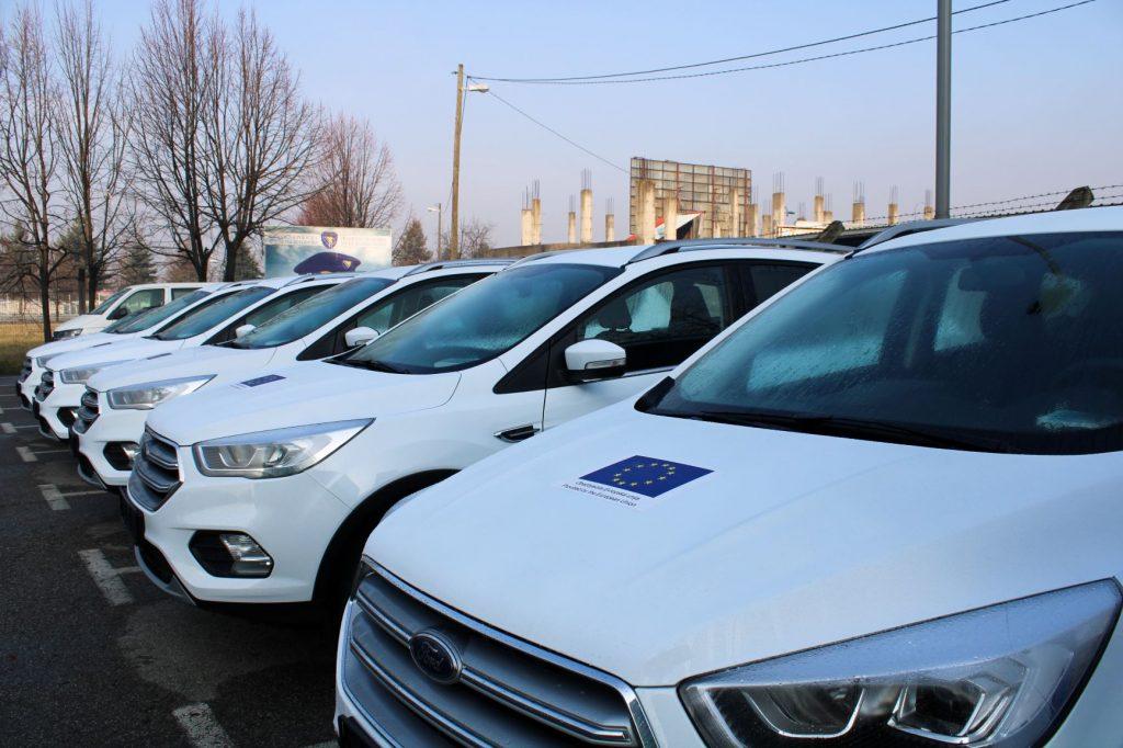 EU donates five new vehicles to BiH Border Police