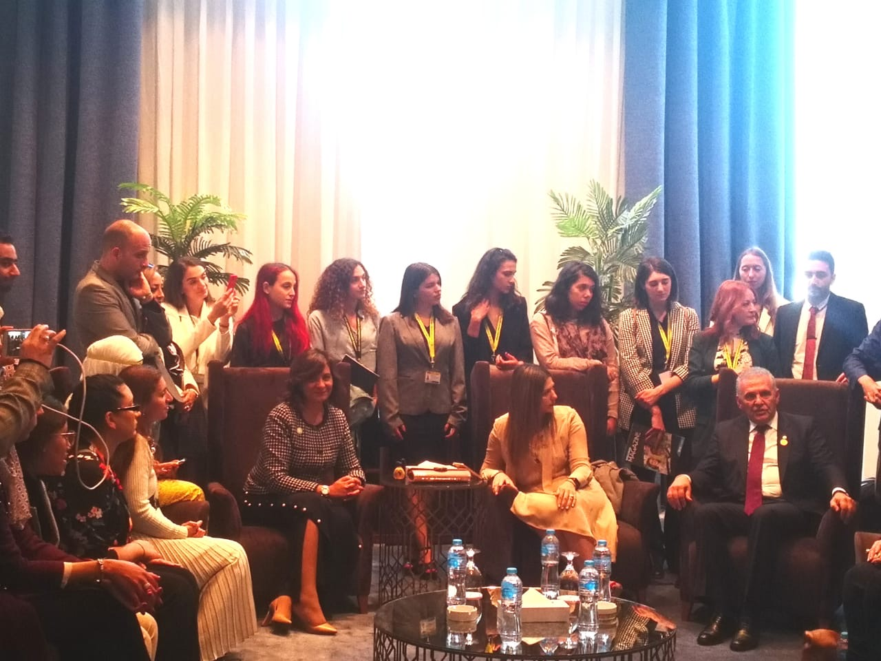 Fotis Fotiou attends World Youth Forum in Egypt
