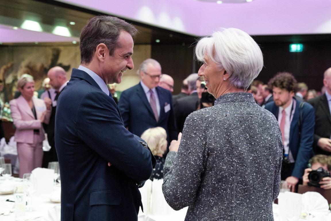 Mitsotakis and Lagarde to meet tomorrow in Frankfurt