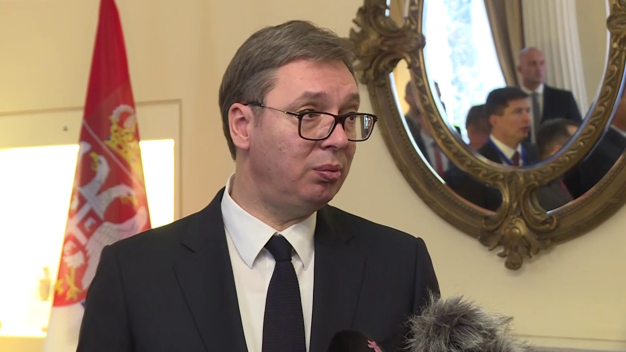 Vucic to meet with L. ban Gelder and V. Amendola