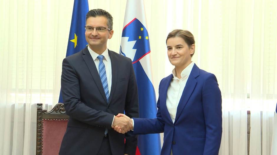 A joint Serbia-Slovenia meeting is being held in Novi Sad