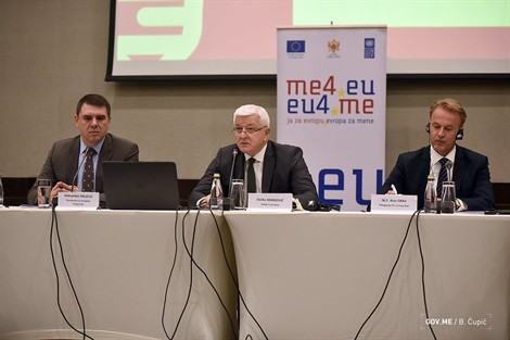 Marković: Montenegro is committed to fulfilling its obligations under its European agenda