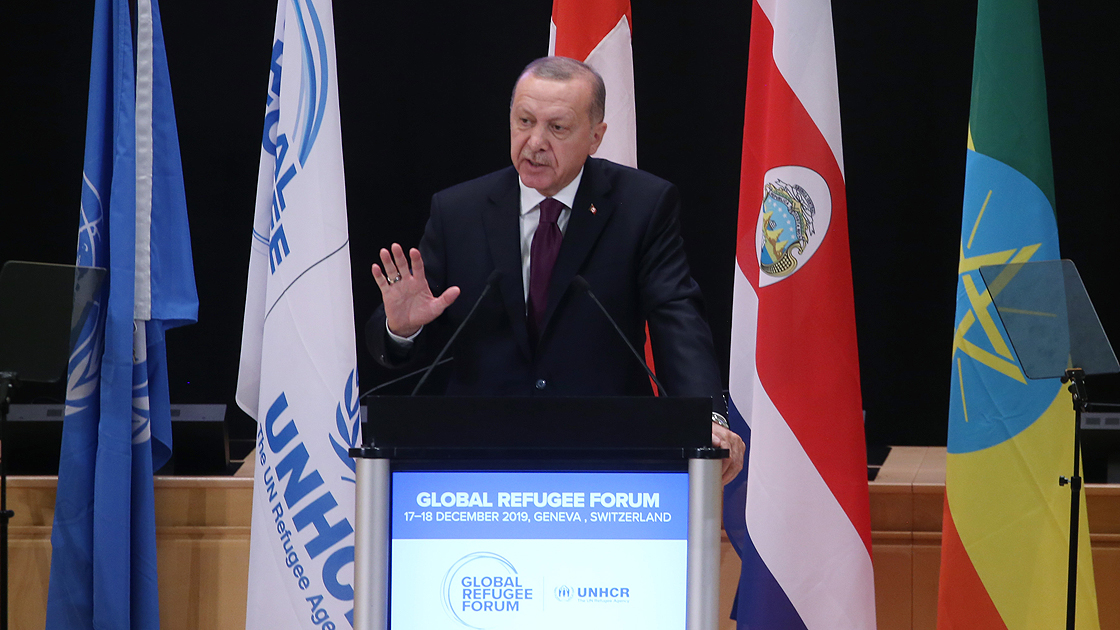"Erdogan: ""The safe return of refugees is equally important to combating terrorism"""