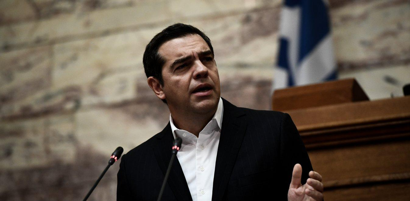 Tsipras proposes veto on the EU regarding sanctions and on US military bases for Eastmed