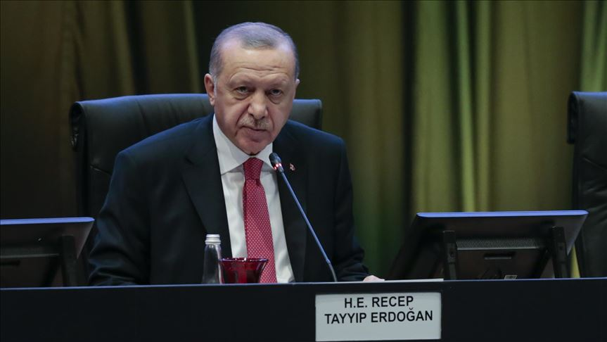 Erdogan: The sanctions imposed on TurkStream constitute a violation of our rights