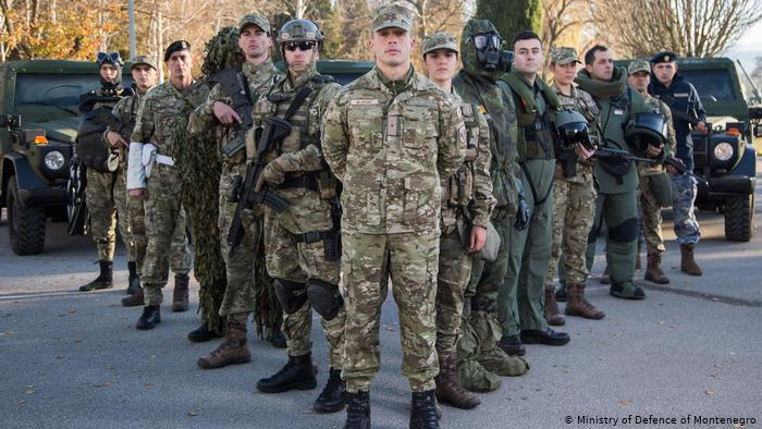 Montenegro proceeds with modernization of its army