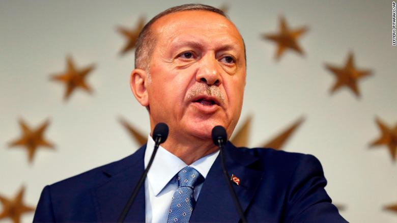 "Erdogan speaks of ""grey zones"" in the Aegean"