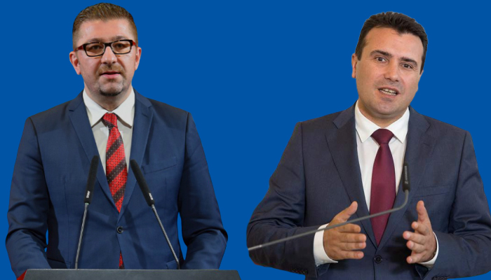Zaev, Mickoski to meet Saturday on the formation of the technical government