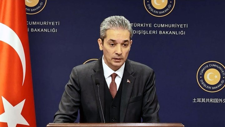 Turkish Foreign Ministry's reaction to EastMed