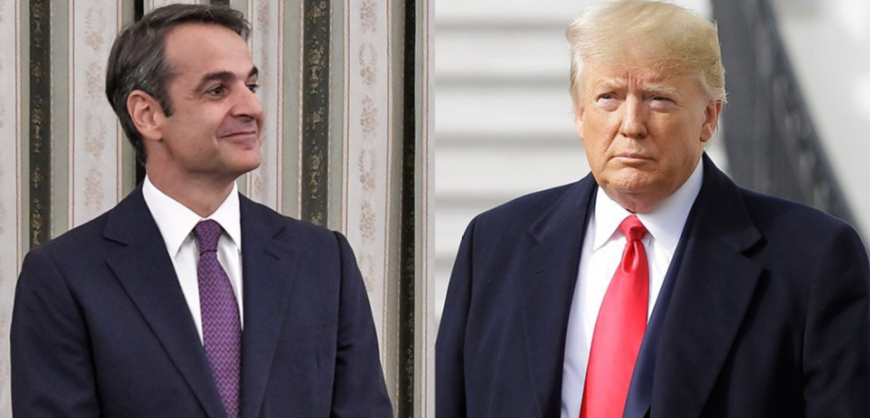 Mitsotakis' visit to the US – Meetings and contacts