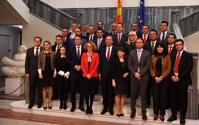 North Macedonia: Spasovski's caretaker government elected