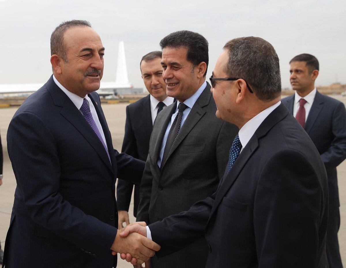 Turkey takes initiative on the Iran-US Crisis – Cavusoglu in Baghdad