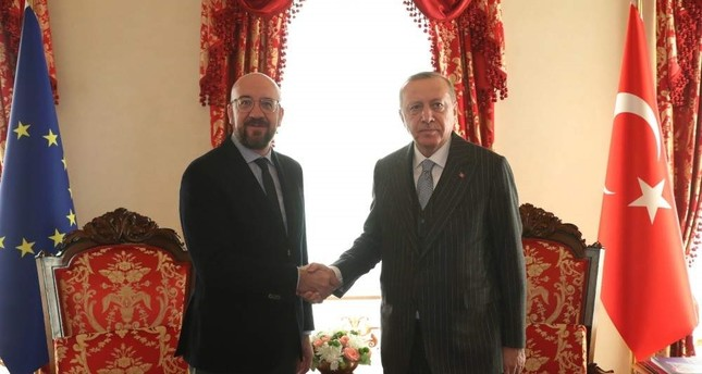 Erdogan met with Charles Michel