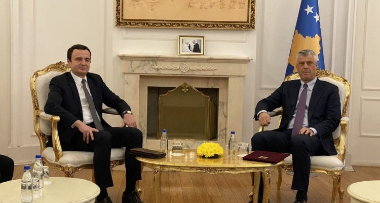 President Thaci urges Albin Kurti to form a Government