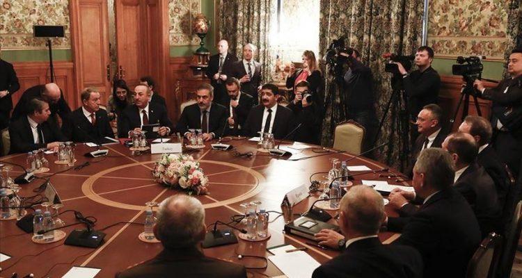 Negotiations have begun in Moscow following Putin Erdogan's initiative on Libya