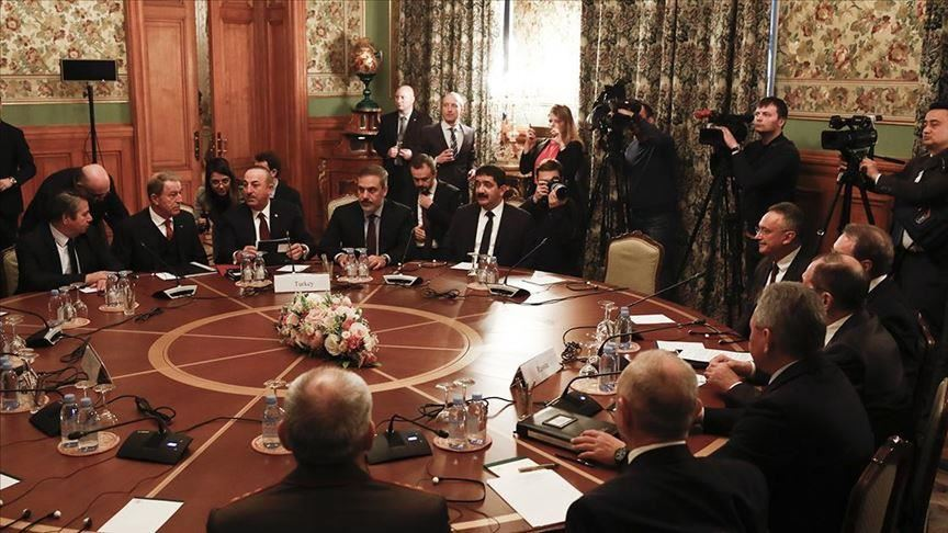 Negotiations have begun in Moscow following Putin Erdogan's initiative on Libya