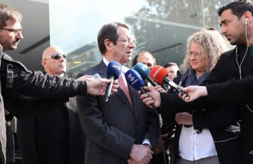 Anastasiades: We are making efforts so that International Law prevails