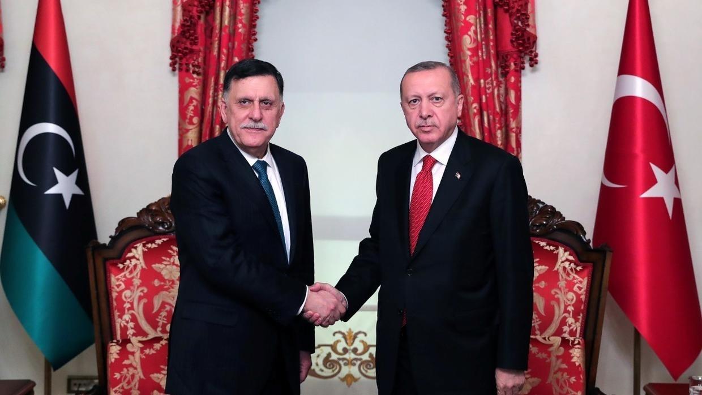 Sarraj met with the US Ambassador in Istanbul!