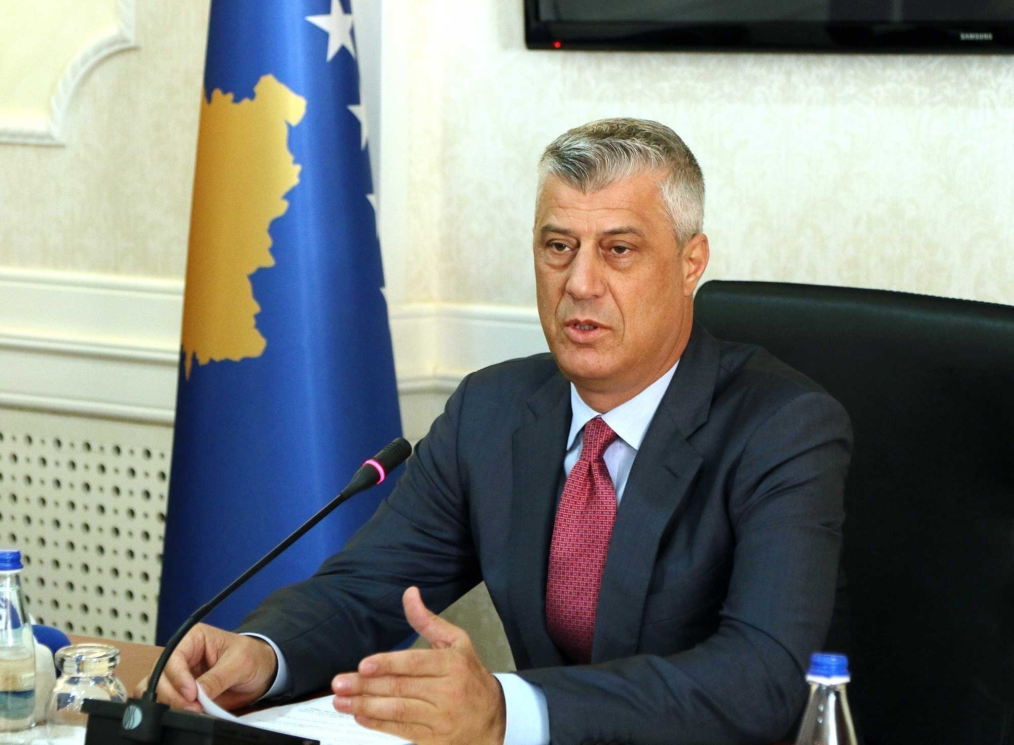 Thaci: Kosovo needs a new government