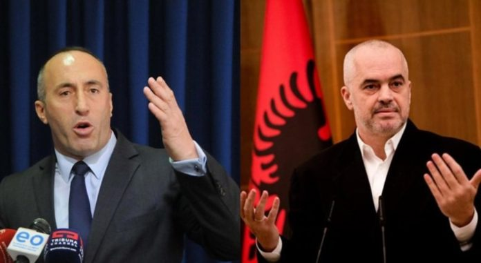 Albanian PM Rama files defamation lawsuit against Kosovo's Haradinaj